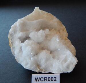 Witte celestien geode WCR002